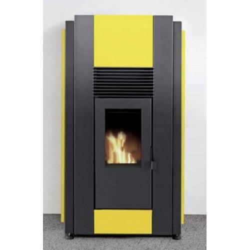 Estufa de pellets calefactora para radiadores volumen - Estufa de lena para radiadores ...